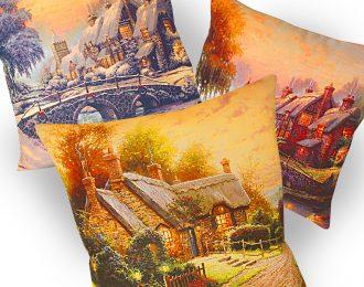 Подушка «С пейзажем»