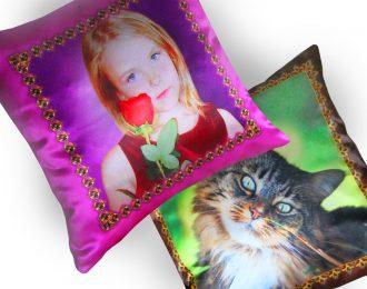 Подушка «Памятные фотографии»