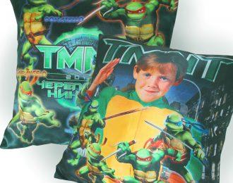 Подушка «Герою черепашек»