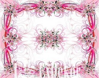 Скатерть «Розовые лилии»