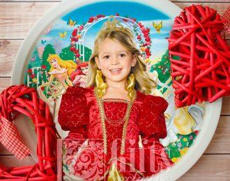 Тарелка «Маленькой принцессе»