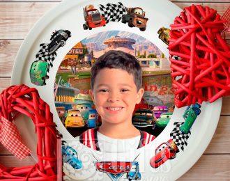Тарелка «Юный гонщик»