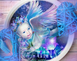 Тарелка «Ангелочку»