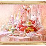 """Натюрморт """"Жизнь в розовом цвете"""""""