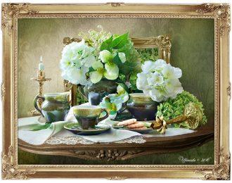 Натюрморт «Цветочный чай»
