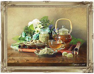 Натюрморт «Чай на травах»
