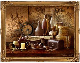 Натюрморт «Морская история»